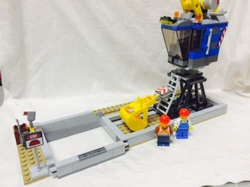 LEGO City Heavy HAUL TRAIN-60098-LOADING Station Book 6