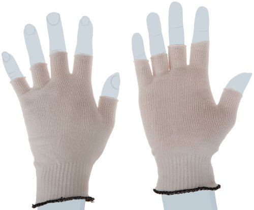 Berkshire BCR Nylon Half-Finger Glove Liners SK, Large Bulk Size (Bulk Pack of 200 Pairs) by Berkshire (Image #1)