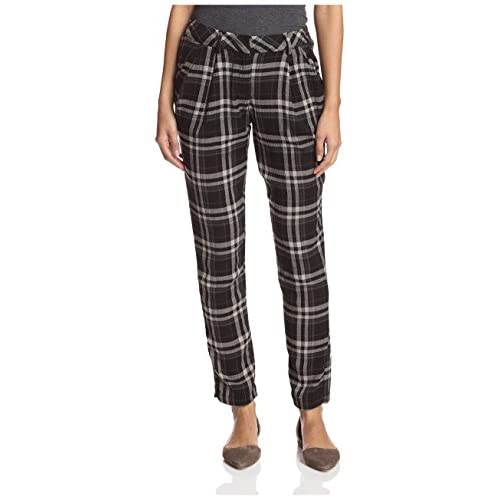 dRA Women's Anderson Plaid Pants free shipping