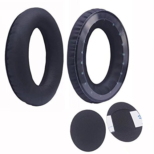 JahyShow® Replacement Ear Pads Cushions for Bose Triport TP-1 TP-1A Headphones AE1(Black)