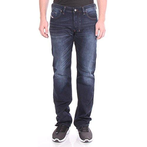 Diesel Larkee 837K Regular Straight Jeans 27/30 Men Blue Denim