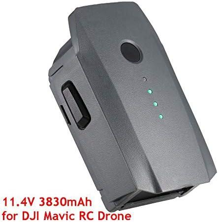 Tiamu 14.8V 3830mAh 3S Vol de Rechange Intelligent Batterie LiPo Remplacement pour Mavic Pro & Quadricoptere FPV Platine RC Drone