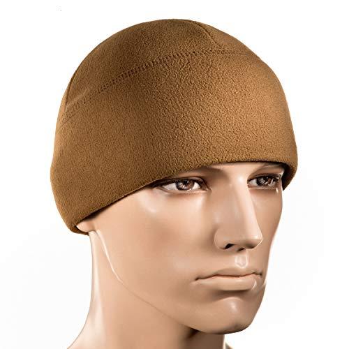 - M-Tac Watch Cap Fleece 260 Mens Winter Hat Military Tactical Skull Beanie (Medium, Coyote Brown)