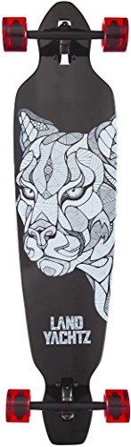 Landyachtz Battle Axe 40 Cougar Graphic 2017 Complete Longboard Skateboard New (Landyachtz Longboard Skateboards)