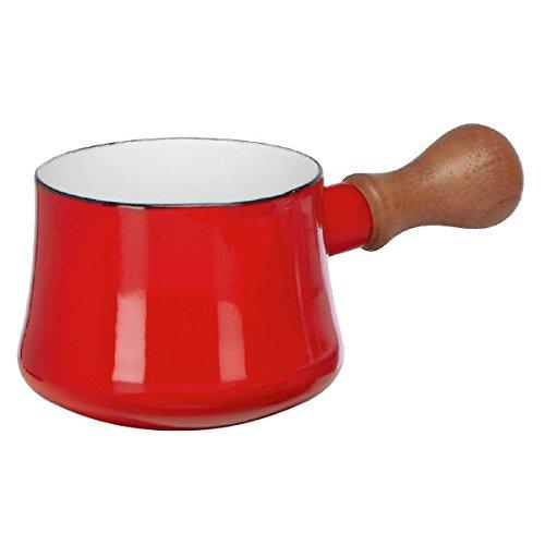 Dansk Kobenstyle Chili Red Enameled Steel Butter Warmer, Set of 4