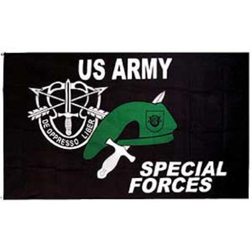 U.S. Army Special Forces Flag 3ft x 5ft (Army Forces Special Us Flag)
