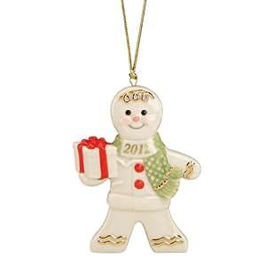 Lenox 2012 Delicious Delivery Gingerbread Ornament