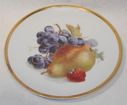 Vintage PMR Bavaria Jaeger & Co Germany Golden Crown Orchard Pear 7 3/4