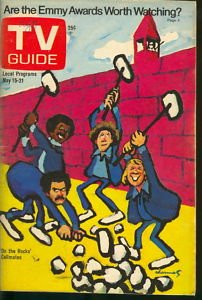 1976 Guide Tv - May 15 1976 TV Guide (On the Rocks)