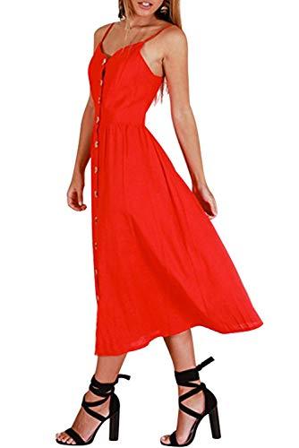 Vintage Fantasia Al Vita Vestito Copricostume Dress Color Ad Tunica Chic  Estiva Donna 21 Davanti Abito Swing Caftano A Ginocchio ... 69e6c81f663