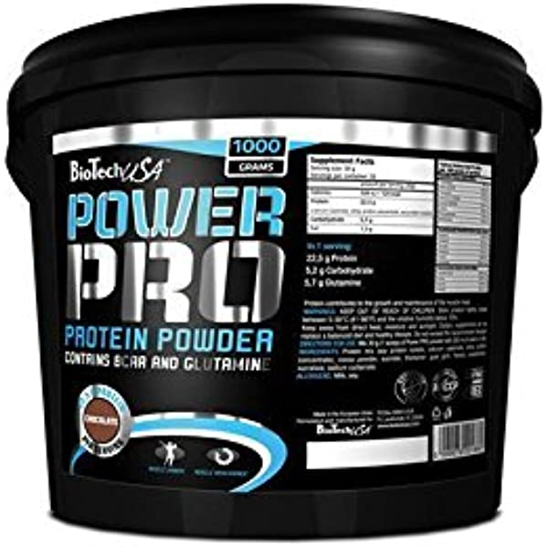 Biotech USA Protein Power Schokolade 1000g: Amazon.es: Salud ...