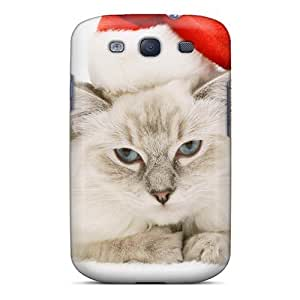 New Dreaming Your Dream Super Strong Christmas And Happy New Year Christmas Cat Tpu Case Cover For Galaxy S3
