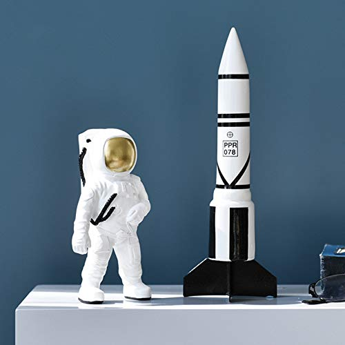 4 pcs/Set Contracted Contemporary Astronaut Decorates Resin to Put Out an Astronaut Shop Window to Display Handicraft by estinko (Image #4)