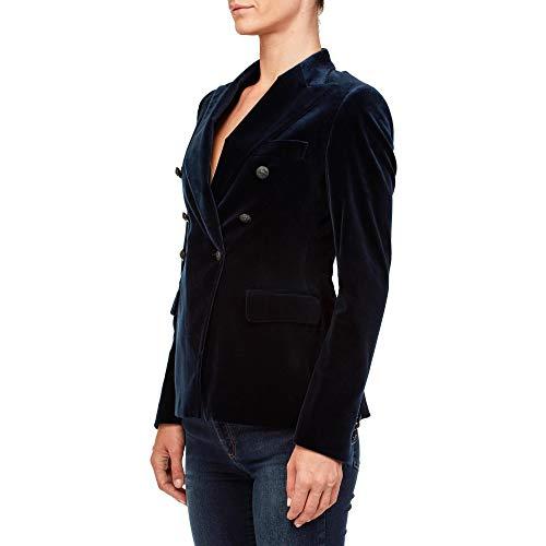 nero Donna Cotone Tagliatore Blazer Jalicya80043b1309 Blu wvPXfHPqx