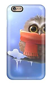 CaseyKBrown Scratch-free Phone Case For Iphone 6- Retail Packaging - Cute Owl