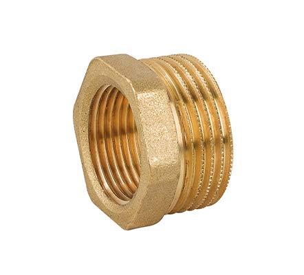 rosca macho rosca hembra MH M1//4 x F1//8 Reductor de lat/ón hex/ágono conector accesorio