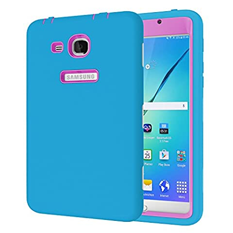 Galaxy Tab A 7.0 Case, Beimu 3 in 1 Hybrid PC+ Silicon Shockproof Impact Resistant Corner/Bumper Protection Armor Defender Case Cover for Samsung Galaxy Tab A 7.0 Inch Tablet 2016 (SM-T280 / (Samsung Galaxy Phone 7inch)