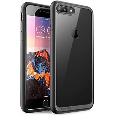 iPhone 8 Plus Case, SUPCASE Unicorn Beetle Style Premium Hybrid Protective Clear Bumper Case [Scratch Resistant] for Apple iPhone 7 Plus 2016 / iPhone 8 Plus 2017 Release (Black) SUPCASE Cases SUP-iPhone7sPlus-UBStyle-Black