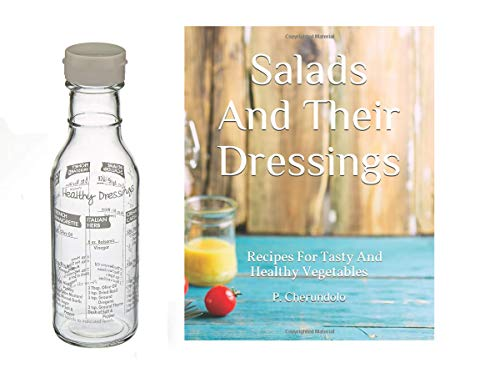 - Norpro Glass Salad Dressing Maker Shaker & Salad Dressing Recipe Book