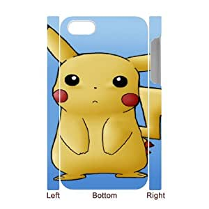 Pikachu for iphone4 4S 3D Cell Phone Case & Custom Phone Case Cover R68A879329