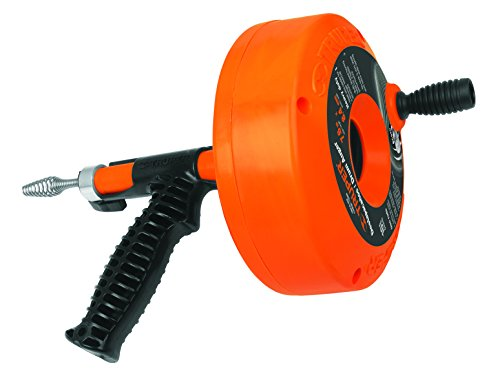TRUPER DECA-25X 25 ft Steel Core Drain Cleaner by Truper