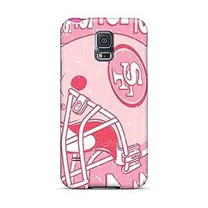 LauraAdamicska Samsung Galaxy S5 Shockproof Hard Cell-phone Cases Unique Design High Resolution San Francisco 49ers Skin [epE22703Dijn]