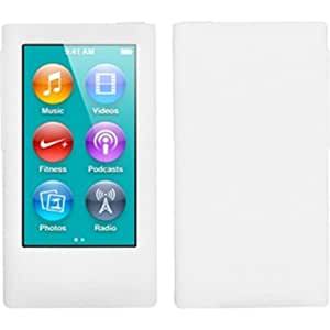 Solid Skin Case Cover for iPod nano 7th generation - Solid White