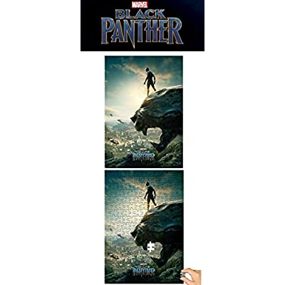 PuzzleLife 1000piece Jigsaw Puzzle Marvel Black Panther: Toys & Games