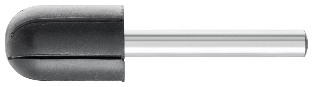 PFERD 42024 Policap Abrasive Cap Holder, Shape C, 5/8'' Diameter x 1'' Length, 1/4'' Shank, 30000 Max RPM (Pack of 5)