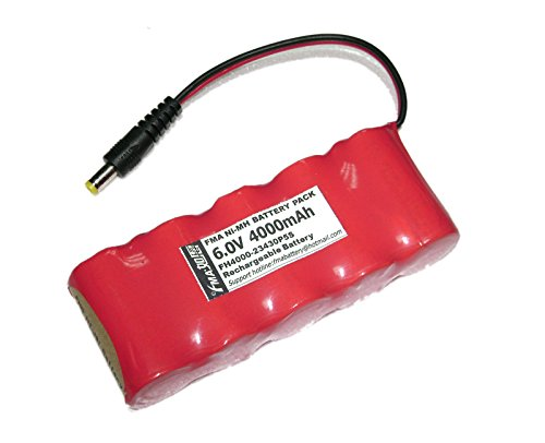 4-Wheel Alignment Car Repair Battery Sub C Sc 6V 4000Mah Dc5521 (Optima Repair Module)