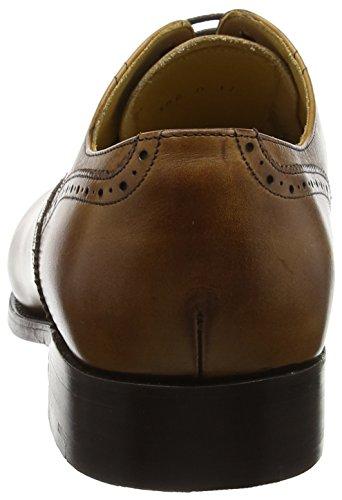 BARKER Newcastle, Scarpe Stringate Oxford Uomo Brown (Conker Calf)