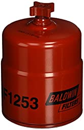 Baldwin BF1253 Water Separator Spin-On with Drain