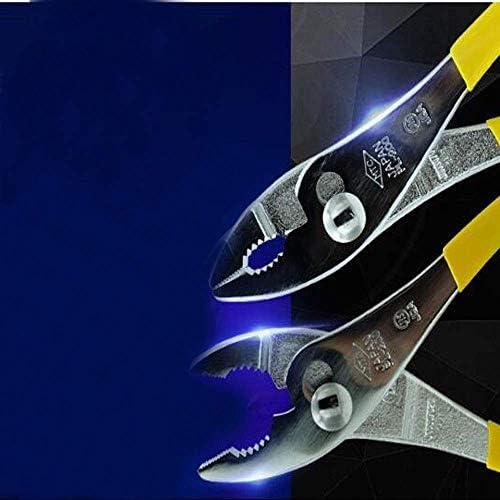 SSY-YU 家の修理のための適切なプライヤー、、、アウトドア産業メンテナンスプライヤーで、多機能カーフィッシュテイルプライヤーセット、8インチは私たちがより強力とする(カラー:イエロー、サイズ:8インチ) ペンチ 切断工具