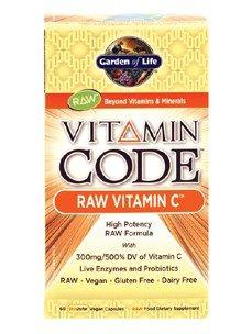 Garden of Life Vitamin Code Raw Vitamin C 60 Capsules