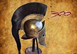 Junglevibes King Spartan Leonidas 300 Movie Helmet With Liner For Larp Role Play