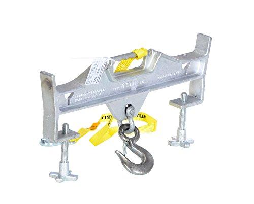 Vestil Hoisting Hook Double Rigid/Latch 4K Cap