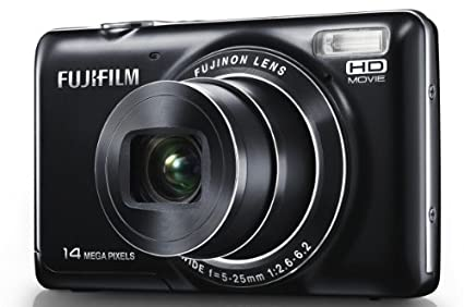 amazon com fujifilm jx370 14 0 mp digital camera black point rh amazon com