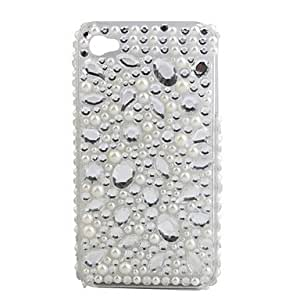 SHOUJIKE Protective PVC Case with Jewel Cover for IPhone4