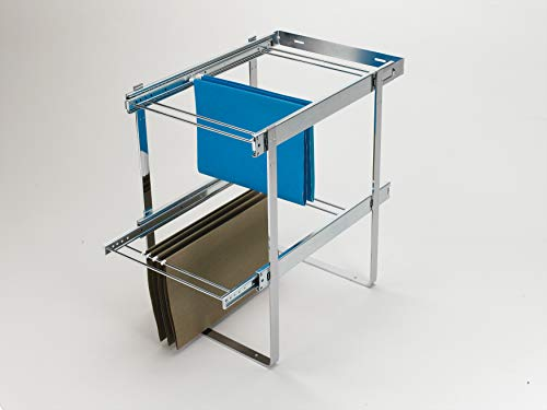 Rev-A-Shelf Chrome Two-Tier File Drawer System, ()