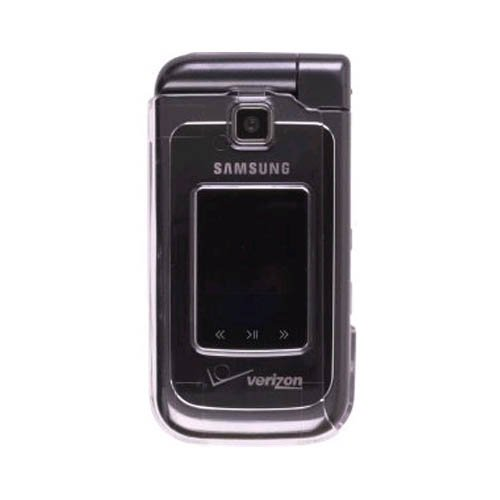 New Clear Snap On Clip Case for Samsung U750 Alias ()