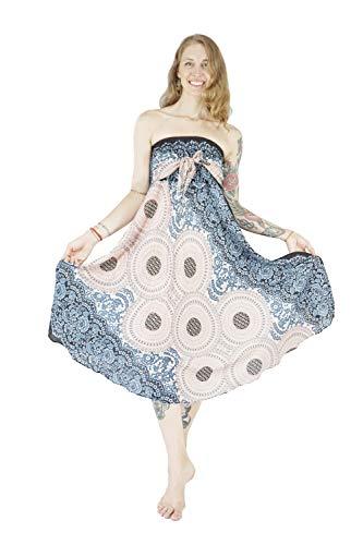 with Lining 1 Women's Dress Inner Bohemian Boho Vib Rose Skirt White Long Summer nqHCBRF0w