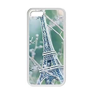 Branch Effiel Tower Fashion Personalized Phone Case For iphone 5c