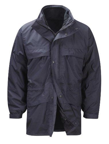 HydraPor JKHP2AR-klein 3 in 1-ARRAN wetterfest Jacke mit herausnehmbarem Fleece-Futter, Marineblau