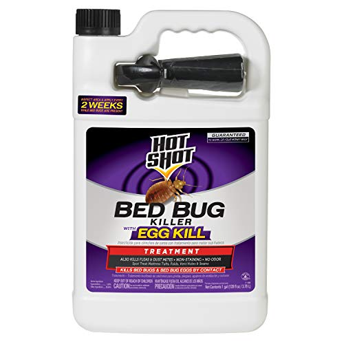 Hot Shot 96442 HG-96442 1 Gallon Ready-to-Use Bed Bug Home Insect Killer, Brown/A (Best Bug Bomb For Bed Bugs)