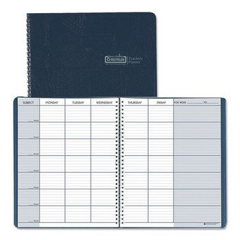 Bulk 2019 Recycled Teacher Planners: HOD509-07 (24 Attendance Planners) by House of Doolittle (Image #1)