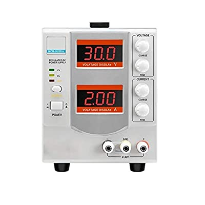 High Precision MCH-302DA Power Supply 30V 2A Adjustable Digital DC Switching Power Supply Home Improvement Electrical (Size : 110v)