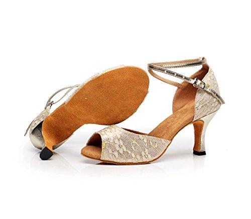 Lani¨¨re en Honeystore Bout T de Femme Scintillant Danse Chaussures Ferm¨¦ Dance7124a xqwaF4TUZw