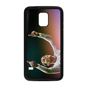 Samsung Galaxy S5 Mini Phone Case,Personalized Fashion Customized Mobile Phone Shell,Clear Print Ronaldo Avatar(Black)