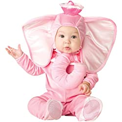InCharacter Costumes Baby's Pink Elephant Costume, Pink, Medium