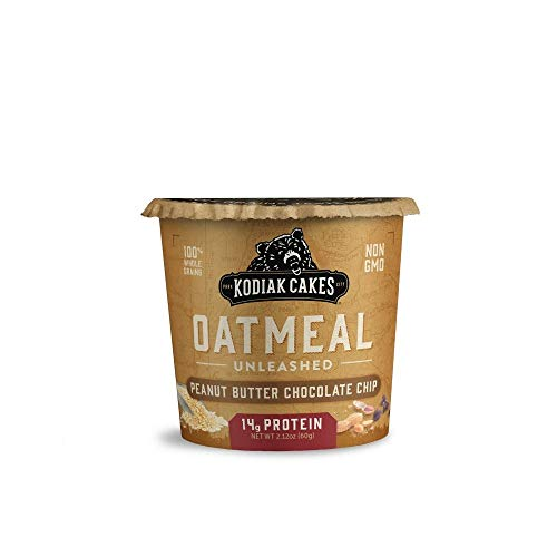 Kodiak Cakes Chocolate Peanut Butter Oatmeal in a Cup (Pack of 2)